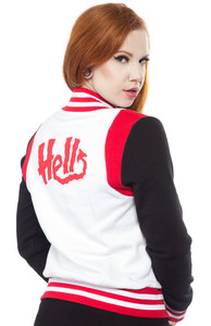 Sourpuss - Hell Varsity Jacket