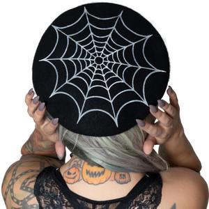 Kreepsville 666 - Web Beret Hat