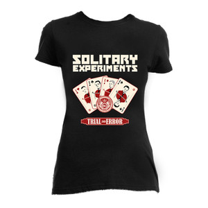 Solitary Experiments Trial and Error Girls T-Shirt *LAST ONES IN STOCK*