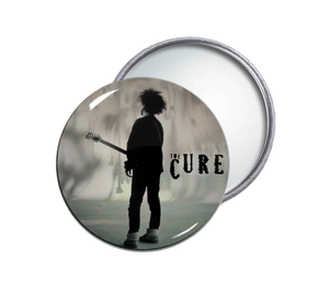 The Cure - Boys Don't Cry Round Pocket Mirror