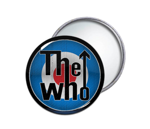 The Who - Logo Round Pocket Mirror