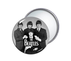 The Beatles Round Pocket Mirror