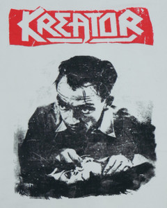Kreator White Backpatch Misprint