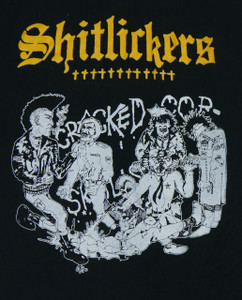 Shitlickers Cracked Cop Backpatch Misprint