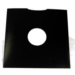 "12"" Black Carton Records Jackets Sleeves 5 package"