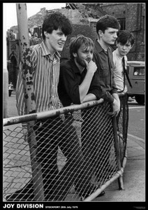 """Joy Division Stockport 1979 24x36"""" Poster"""