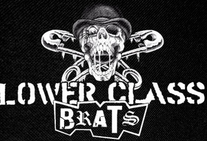 "Lower Class Brats 5x4"" Printed Patch"