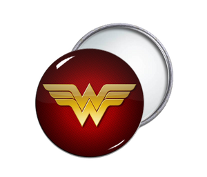 Wonder Woman Round Pocket Mirror