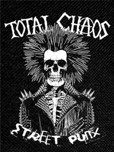 "Total Chaos Street Punx 4x4"" Printed Patch"