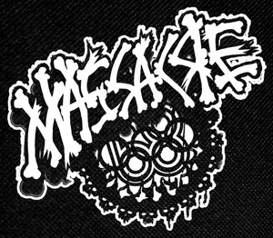 "Massacre 68 Logo 4x4"" Printed Patch"