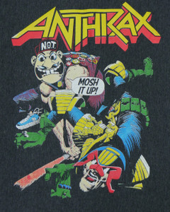 Anthrax Mosh It Up Backpatch Misprint