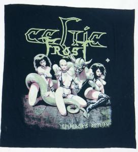 Celtic Frost Emperor's Return Backpatch Misprint