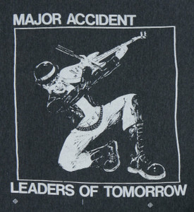 Major Accident Leaders of Tomorrow Backpatch Misprint