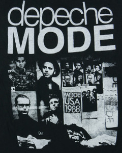 Depeche Mode 101 Backpatch Misprint