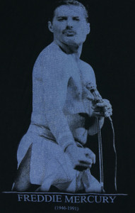Freddie Mercury Backpatch Misprint