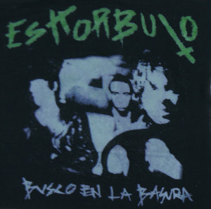 Eskorbuto Busco en la Basura Backpatch Misprint