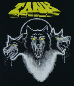Tank Filth Hounds of Hades Backpatch Misprint
