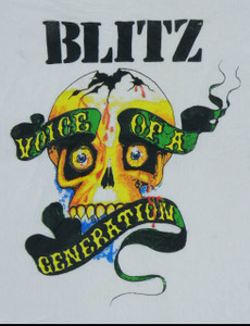 Blitz Voice of a Generation Backpatch Misprint