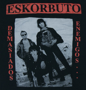Eskorbuto Demasiados Enemigos Backpatch Misprint
