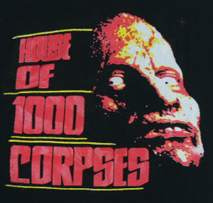 House of 1000 Corpses Backpatch Misprint