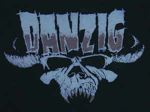 Danzig Skull Backpatch Misprint