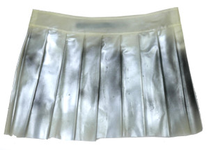 Lip Service Cold Fusion Silver Frosted Skirt