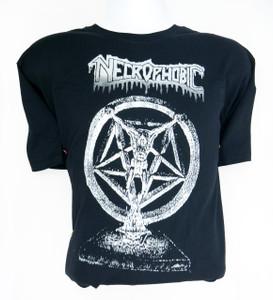 Necrophobic Unholy Prophecies Misprinted T-Shirt Size Large