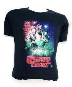 Stranger Things Collage Misprinted T-Shirt