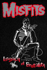 """Misfits Legacy of Brutality Backpatch 11x16"""""""