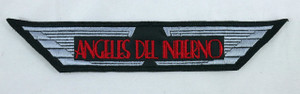 """Angeles del Infierno Emblem 7x1.5"""" Embroidered Patch"""