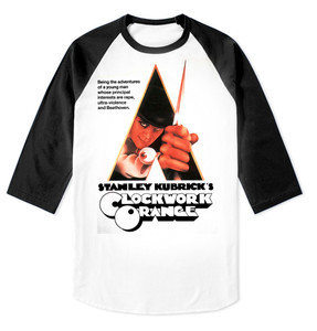 A Clockwork Orange Raglan Baseball 3/4 Sleeve T-Shirt