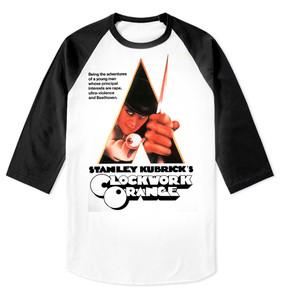 A Clockwork Orange Raglan Baseball 3/4 Sleeve T-Shirt