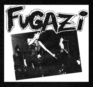 "Fugazi at the Axiom 4x3.5"" Printed Patch"