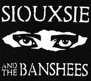 "Siouxsie and the Banshees Eyes 5x4"" Printed Patch"