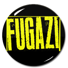 "Fugazi Logo 1.5"" Pin"