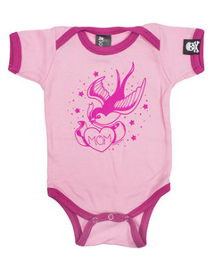 Sourpuss - Mom Pink Onesie