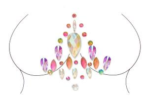 Lyra Adhesive Body Jewels Sticker