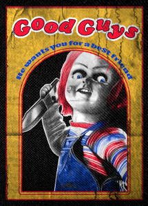 "Chucky Good Guys 4x5"" Color Patch"