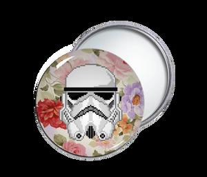 Star Wars - Storm Trooper Round Pocket Mirror