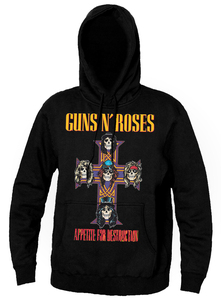 Guns N Roses Appetite for Destruction Hooded Sweatshirt