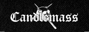 "Candlemass Logo 8x3.5"" Printed Patch"