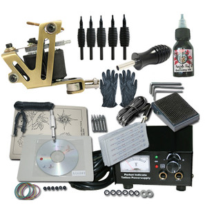 Basic Tattoo Kit One Machine with Case