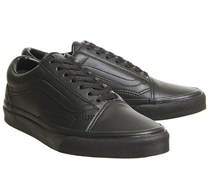 3df0d36b8466 Vans - Old Skool Black Mono Hi Tops