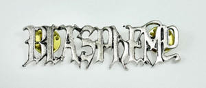 "Blasphemy Logo 1x.78"" Metal Badge Pin"