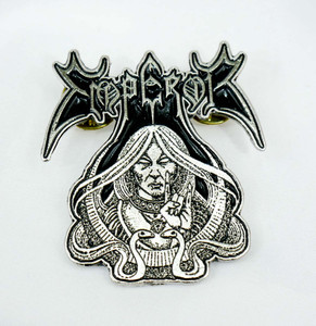 "Emperor Wrath of the Tyrants 1x1.5"" Metal Badge Pin"