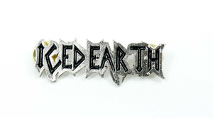"Iced Earth Logo 2 1/4x3/4"" Metal Badge Pin"