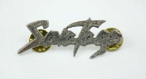 "Savatage Logo 1 1/4x1 3/4"" Metal Badge Pin"