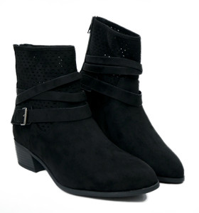 Women's Triple Strap Vegan Boot