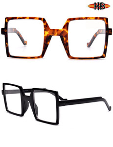 Clear Square Lens Glasses