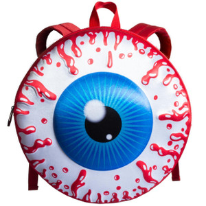 Kreepsville 666 - Eyeball Backpack Red